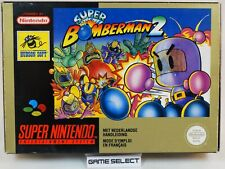 SUPER BOMBERMAN 2 BOMBER MAN NINTENDO SNES SUPER NES PAL ORIGINALE COMPLETO