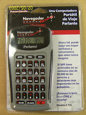 Spanish Language Personal Navigator Modelo # 770 by iParlante!