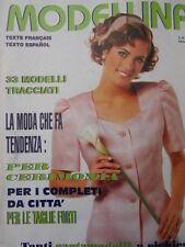 MODELLINA n°100 1997  - con cartamodelli  [M8]