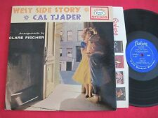 JAZZ LP - CAL TJADER - WEST SIDE STORY (1961) FANTASY 8054 STEREO CLARE FISCHER