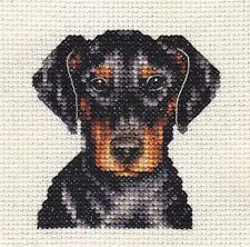 DOBERMAN PINSCHER ~ Dog, Full counted cross stitch kit + All materials