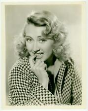 JOAN BLONDELL ORIGINAL COLUMBIA PORTRAIT PHOTO PLAYFUL 1930s