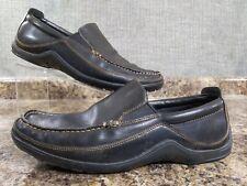 Cole Haan Tucker C03557 Venetian Leather Moccasin Loafers, Men's 10.5M, Black