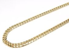 10K Gold Miami Cuban Chain 28 Inches 6MM 27 Grams