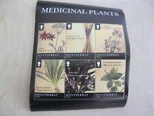 Montserrat medical plant medicine sheet  of 6 stamps I201802