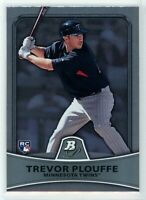 2010 Bowman Platinum #77 TREVOR PLOUFFE RC Rookie (Twins) NM
