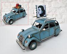 Vintage 1950 Citroen 2cvToy Diecast Model Blue Color Highly Collectible Car