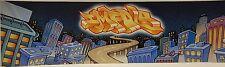 Impala Graffiti City Art Print