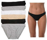 Just Intimates Bikini Panties for Women Comfortable Cotton Panty (Pack of 6)