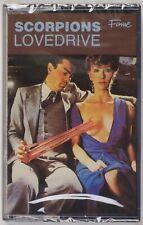 SCORPIONS: Lovedrive FAME UK Hard Rock Cassette Tape SEALED Alt Cover