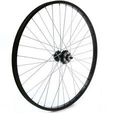 "24"" Mountain Bike MTB Disc Brake QR Quick Release Cassette Rear Wheel Black"
