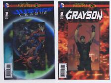 DC Futures End Lenticular Comic Lot 9 Comics