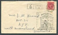 CANADA #254 WAR ISSUE FOREIGN DESTINATION COVER TO NORTH QUEENSLAND, AUSTRALIA