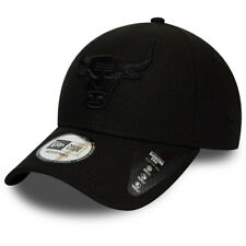New Era Mono Team Colour 9Forty Chicago Bulls Snapback Baseball Cap- Black