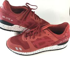 24ad2299ba014 ASICS ASICS GEL-Lyte III Red Athletic Shoes for Men for sale | eBay