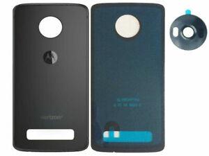 Battery Back Door Glass Cover/Camera Lens For Motorola Moto Z4 XT1980-4 Verizon