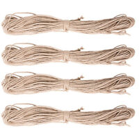 DIY Cat Twisted Sisal Rope Pet Replacement Tree Scratching Climbing Rope TN2F