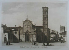 Prato Aquatinta in Sepiadruck1801