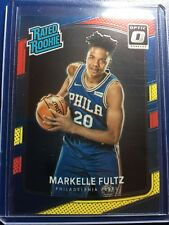 MARKELLE FULTZ 2017-18 Panini Donruss Optic RED & YELLOW PARALLEL RATED ROOKIE