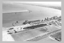 Western Australia GERALDTON 1st aerial 1966 view modern Digital Photo Postcard