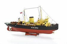 "Brand-new, intricate model ship kit by Billing Boats: the ""Elbjorn Icebreaker"""