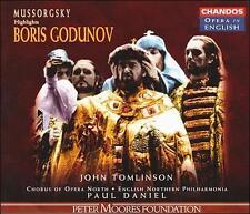 PUCCINI,GIACOMO, Mussorgsky: Boris Godunov - Highlights, Excellent