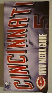 1999 Cincinnati Reds Media Guide