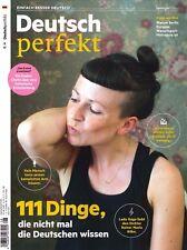 Deutsch perfekt, Heft August 8/2017: 111 Dinge, die nicht mal Deutsche  +wie neu