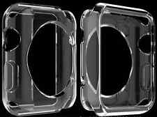 (42mm) Pure Transparent Protective Shell Case Cover For Apple Watch iWatch
