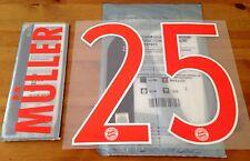 2016-17 FC Bayern Away Camiseta Muller #25 conjunto de número de nombre oficial sportingid