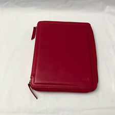 Sena Leather Sleeve Case for iPad 2nd Gen - Red W/ Kick Stand