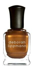 NEW! Deborah Lippmann FROM RAGS to RICHES Nail Polish Bronze to Gold Shimmer