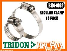 TRIDON H316-006P - REGULAR CLAMP HOSE 10 PACK 11MM-22MM PERFORATED 316 STAINLESS