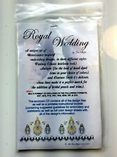The Royal Wedding Machine Embroidery Designs CD