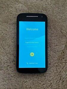 Motorola MOTO E (2nd Gen.) 8GB - Black (AT&T) Smartphone - Great Condition