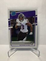 2020 Donruss Optic Devin Duvernay RC Rated Rookie Base Baltimore Ravens #179