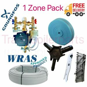 Water Underfloor Heating - SINGLE ZONE ROOM STANDARD OUTPUT KIT up to 20m² NEW