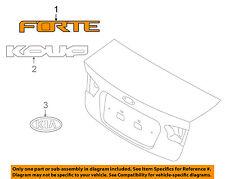 KIA OEM 10-13 Forte Koup Trunk Lid-Emblem Badge Nameplate 863101M300