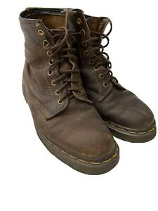Brown Doc Martens Made In England Size 8