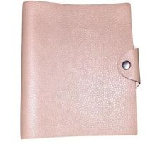 pre-loved authentic HERMÈS leather Ulysses Folio notepad cover