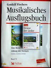 Musikalisches Ausflugsbuch AM NECKAR_Gotthilf Fischer_Buch + MC_Chor_Gesang_