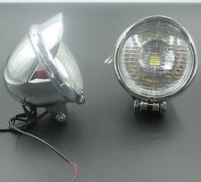 """5"""" LED Driving ANGEL EYE Spot Fog light Motorcycle Bobber Touring Chopper Custom"""
