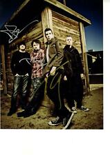 Theory Of A Deadman Autographed Signed 11x14 Photo