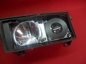 Shrouds Blenden rechts&links ZKW schwarze Scheinwerfer kompatibel bei BMW E36