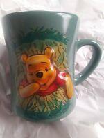 Walt Disney World WINNIE THE POOH - 3D Relief Mug Coffee Tea Cup 18oz.