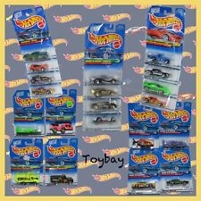 Vtg. Hot Wheels Complete Series Collections ~ 5 Sets / 20 Cars ~ New On Cards