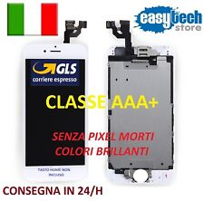DISPLAY LCD TIANMA iPhone 6 Assemblato COMPLETO Fotocamera Frontale Cassa BIANCO