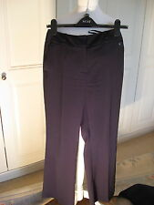 Ben de Lisi trousers navy size 6 petite regular length tailored ex condition