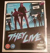 They Live 4K UHD Blu Soundtrack 4 Disc Collector's Edition rare oop Carpenter