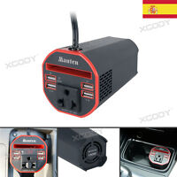 150W Power Inverter DC 12v a CA 220V Convertidor de coche 2 USB Camp On Caravana